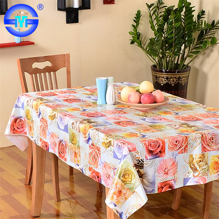 2018 Latest tablecloths high quality restaurant cotton/poly tablecloths made of flannel