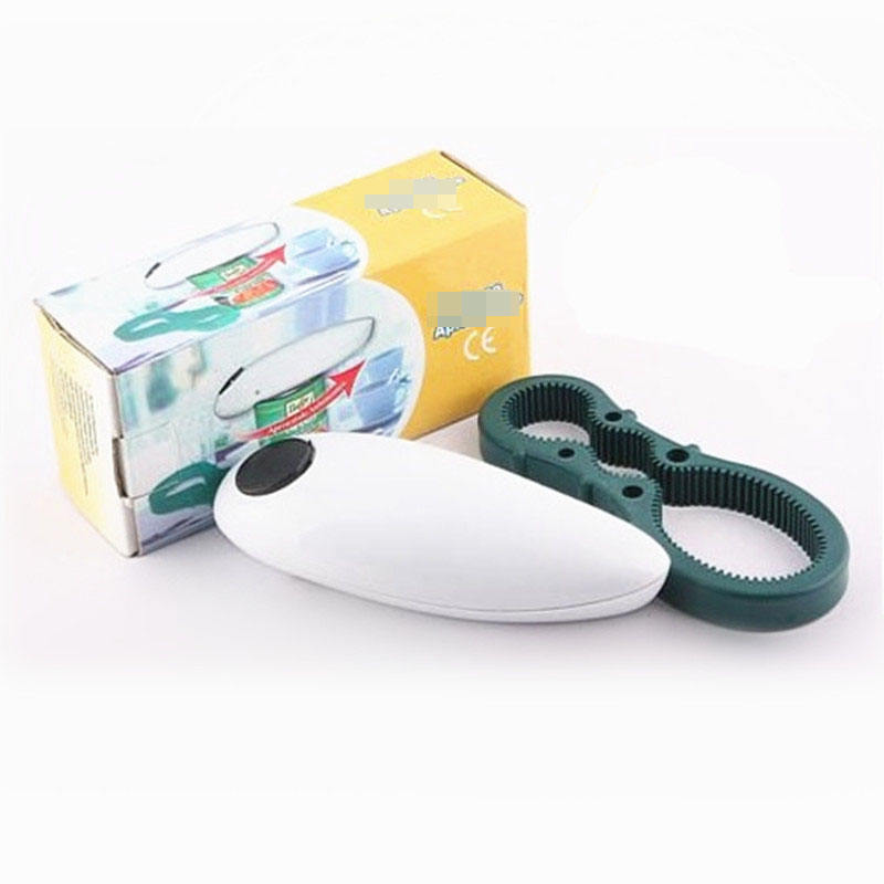 Wholesale Stock Plastic OneTouch Can Openers Kitchen Cooking Tool Portable electric Can Openers