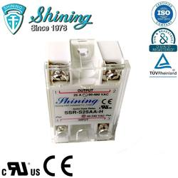 SSR-S25AA-H AC AC 25A 480VAC Single Phase Equal To Fotek SSR Relay