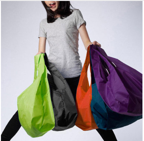 Wholesales Large nylon bags Thick bag Foldable Waterproof ripstop foldable Shoulder Bag Handbag