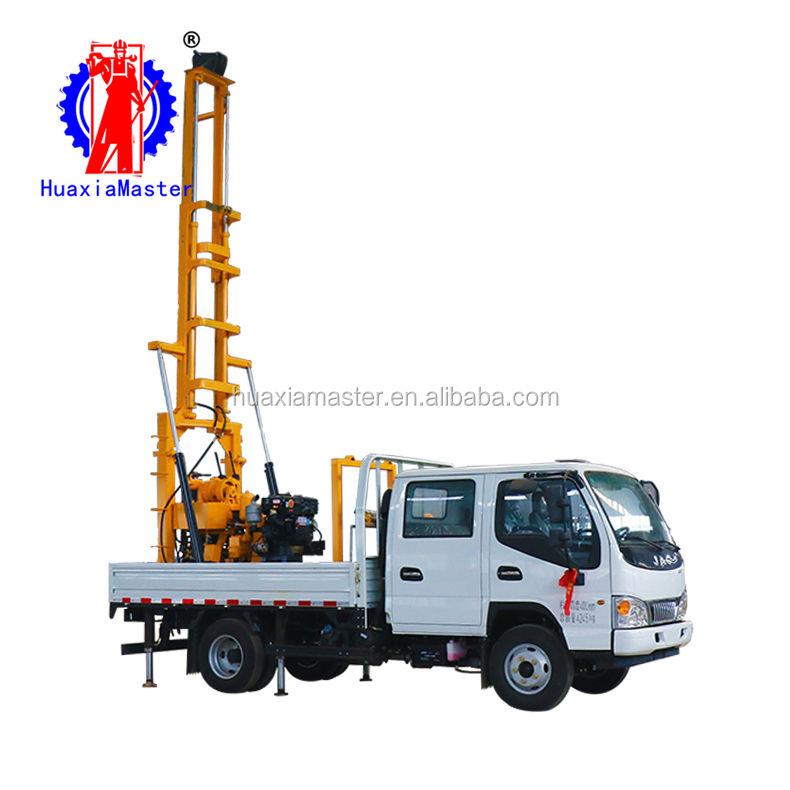 XYC-200 Truck mounted water well drilling rig core sample drilling rig Cheap water well drilling rig