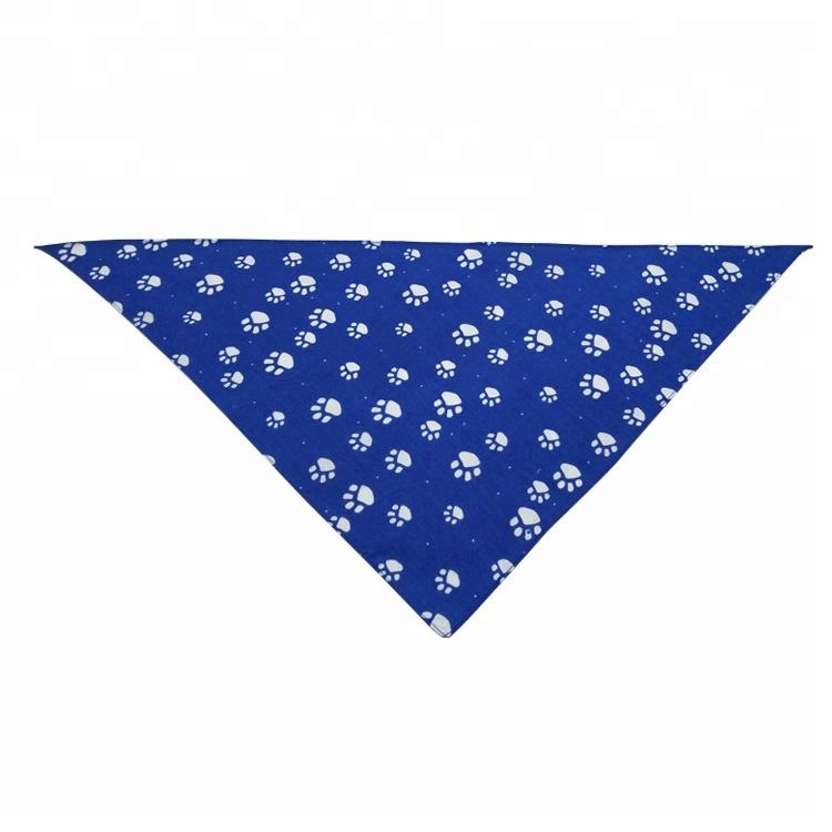 Wholesale Custom Printed Cotton Pet Dog Bandana Scarf