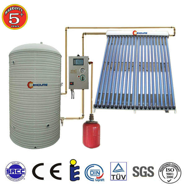 changzhou greenhouse heating solar split solar water heater system