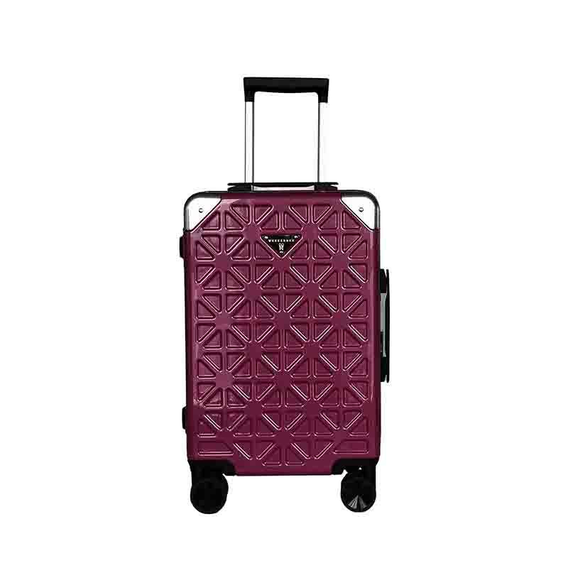 Shanghai ABS Hard Plastic Trolley Travel Luggage Bag
