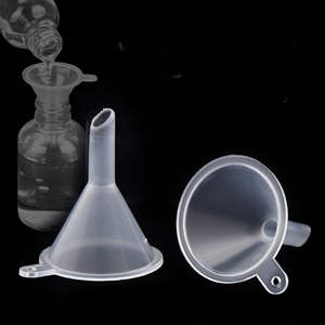 Mini Small Plastic Funnels For Perfume Liquid Oil Filling