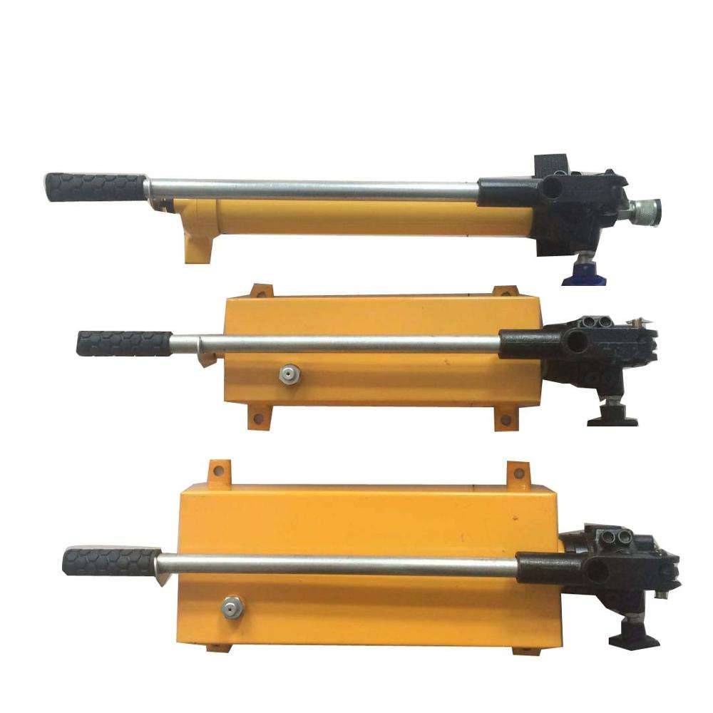 Hydraulic jack cylinder with hand oil pump for sale