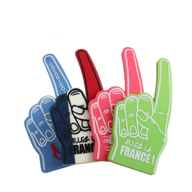 Sports Game Cheering EVA Promotional Foam Finger Hand