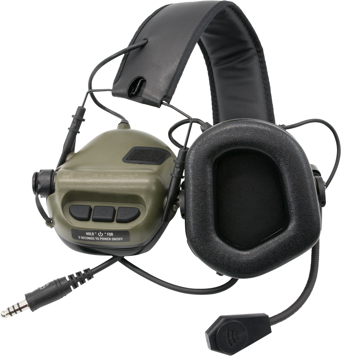 Talkie-walkie tactique casque antibruit Earmor M32 Casque Tactique Militaire Paintball Chasse Sniper <span class=keywords><strong>Elite</strong></span>