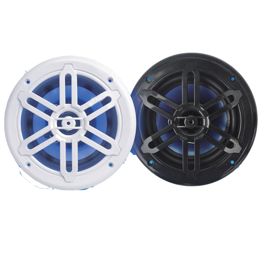 New Design Led Light flashing Waterproof Marine Coaxial Speaker for ATV ,UTV ,BOAT, Golf cart ,Yacht ,Car,SPA,swimming pool,