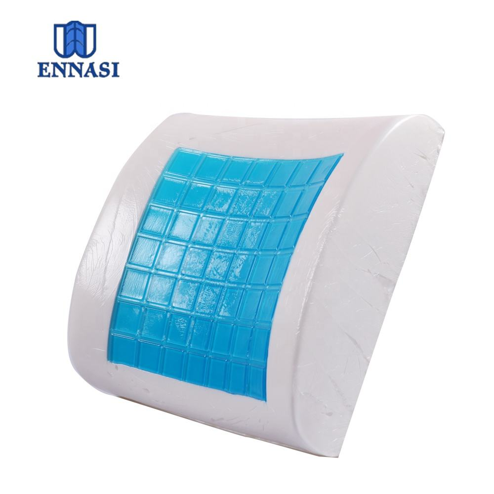 Lower Lumbar Back Support Gel Memory Foam