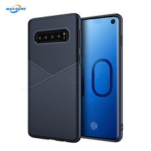 Maxshine Business Protective Shockproof Genuine Leather Tpu Cell Mobile Phone Case Cover For Samsung Galaxy S9 S10  note 10