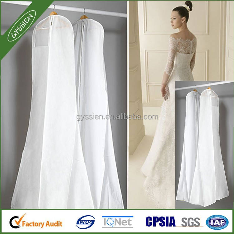 Storage Bag Cover Clothes Protector Case for Wedding Dress Gown Garment