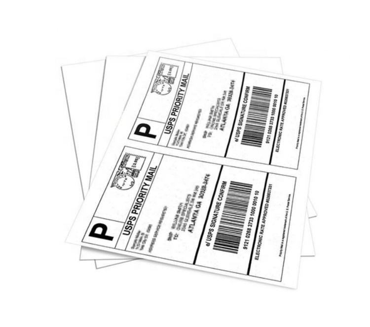 """NEW 4/"""" x 4/"""" SL44FG Labels   /""""FRAGILE/"""" Red//White 1,500"""