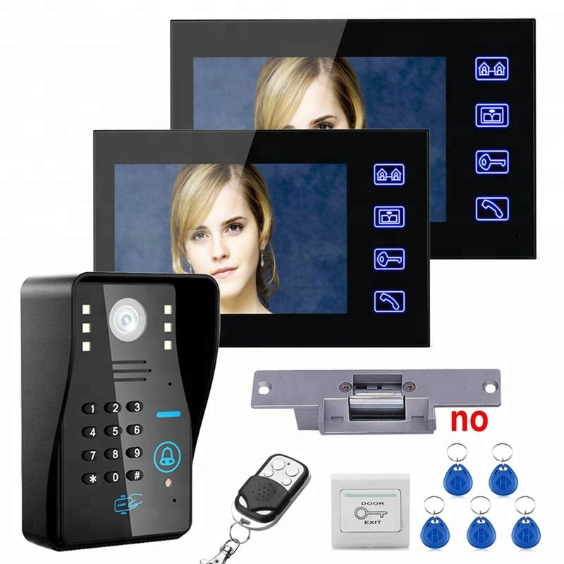 9-inch color wireless video door phone intercom