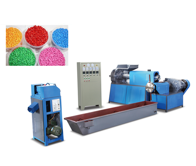 Ld Plastic Recycling Machine/SJ-120 Model Recycling Machine