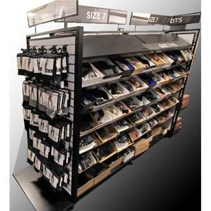 shoe store shelf shoes shop interior design display showcase decoration
