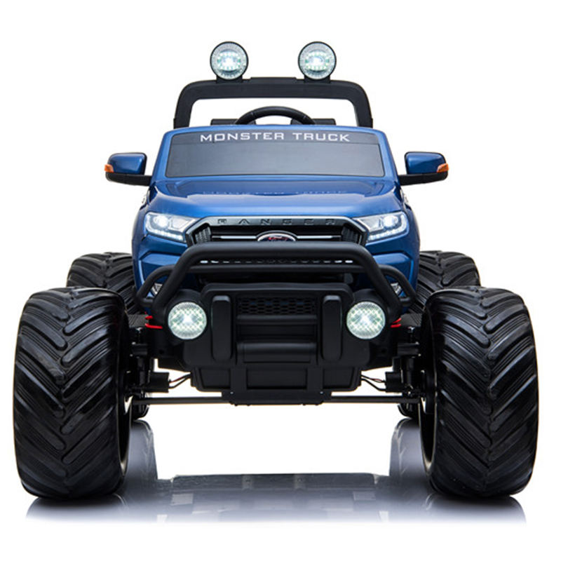 baby electric car FORD Monster Truck 12V Electric ride on cars for kids MT550 jeep paint Blue big SUV battery car for children