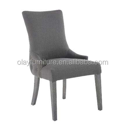 French style wholesale hotel luxury dining room chair with botton