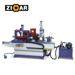 hydraulic Automatic Finger Joint Shaper FJ3515A with scoring saw and glue spreader
