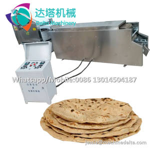 Automatic tortilla roti making machine / gas roti maker