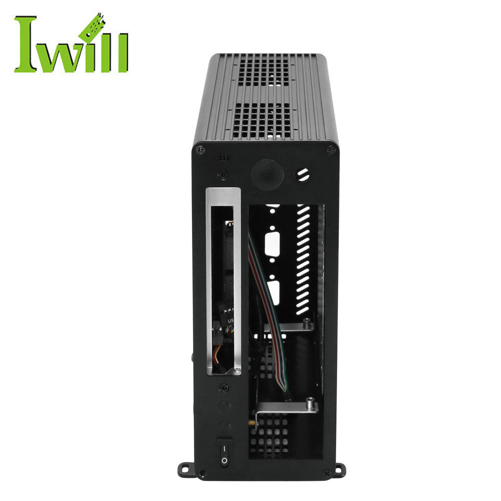 2018 hot sale mini itx pc case and mini industrial pc