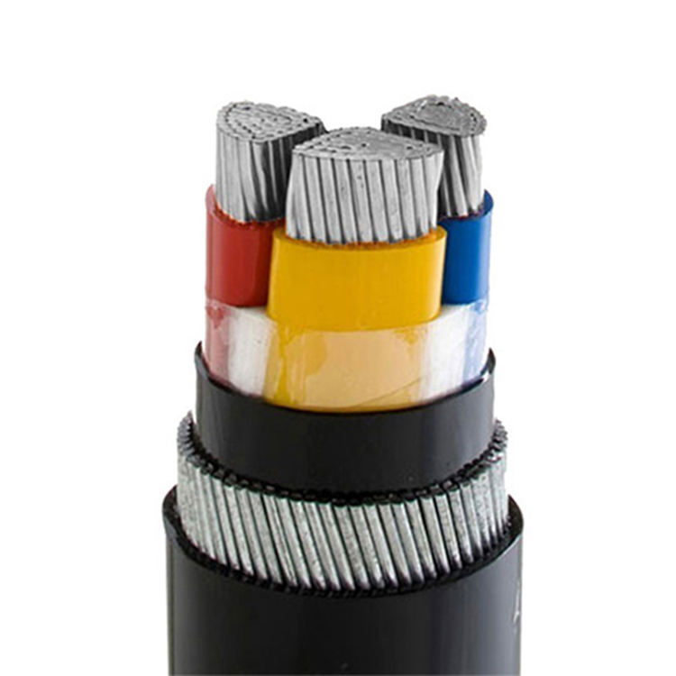 Manufacturers sell low-cost aluminum conductor 3 core power cables at low prices