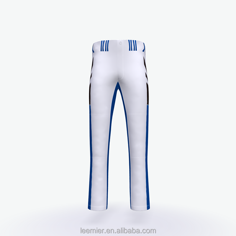 custom sublimation printed baseball pants
