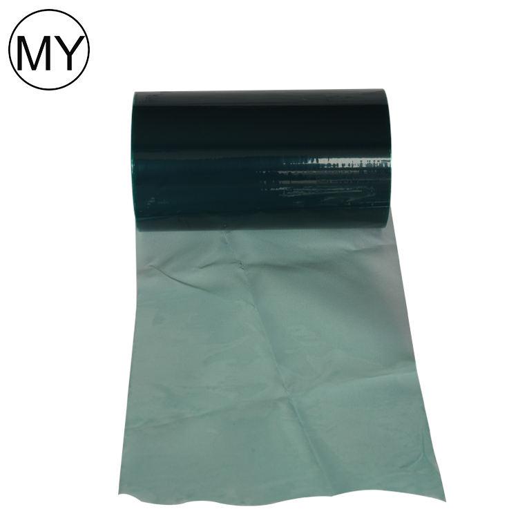 Película de proteção para a placa de aço inoxidável verde