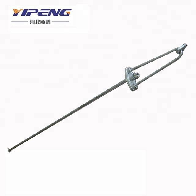 Busur Stay Tackle/Hot Dip Galvanis Tetap Rod/Power Line Fitting