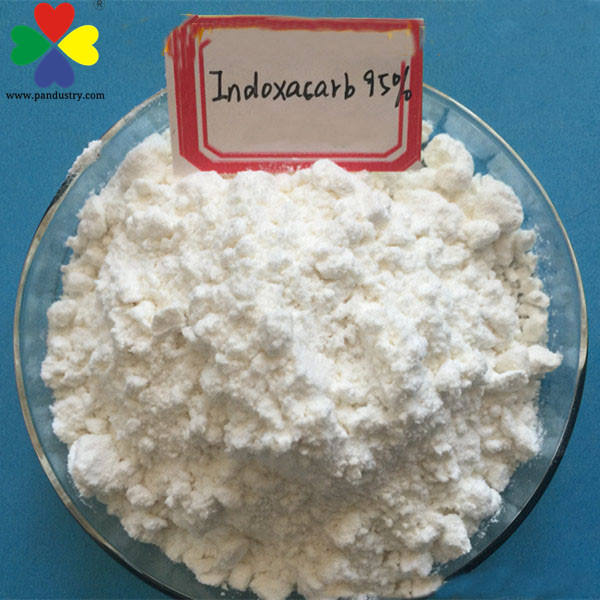 Biological Pesticide White Powder 95%TC Indoxacarb Insecticide For Vegetables