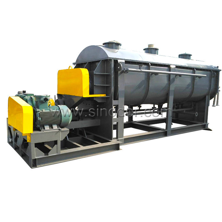 Large Capacity Hollow Paddle Dryer KJG Series Blade Dryer for Lees