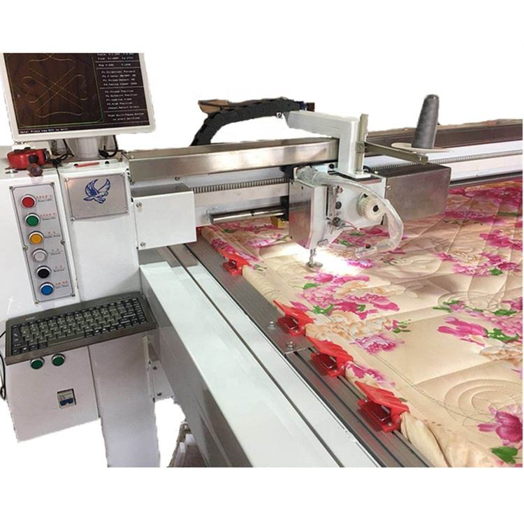 Easy Operated Computer Control Industrial Needle Quilting Machine
