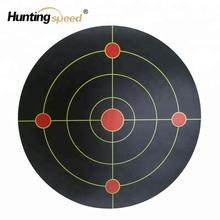 7''Bullseye Splatter and Sefl Adhesive Shooting Target Paper