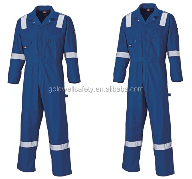 EN 11612 cotton safety workwear uniform for workers