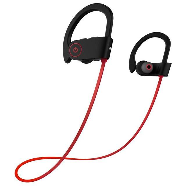U8 Wireless sports bluetooth earphone Handsfree Earhook Earphone Headphones for iphone