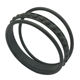 Wholesale Custom Bracelet Engraved round silicone Main women rubber bangle