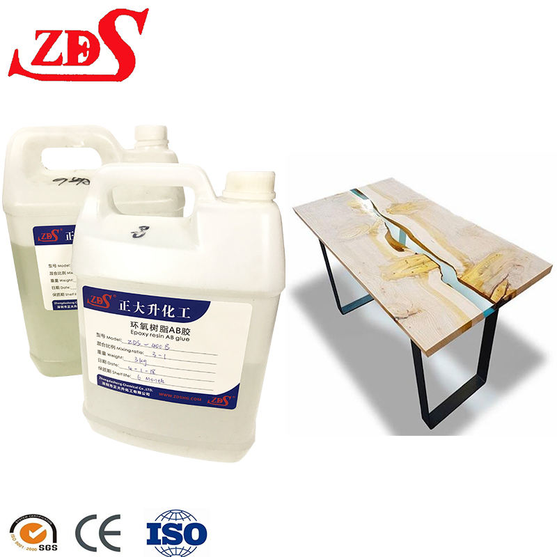 Ultra Clear Epoxyhars/Clear Epoxy Casting Hars/Epoxy Hars Voor Meubels Gemaakt In China