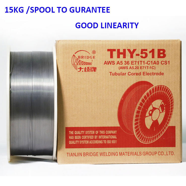 china good quality aluminum flux cored welding wire