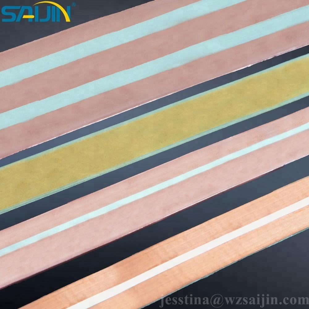 Electrical brass copper silver inlay bimetallic sheet bimetal strip for 45A switch