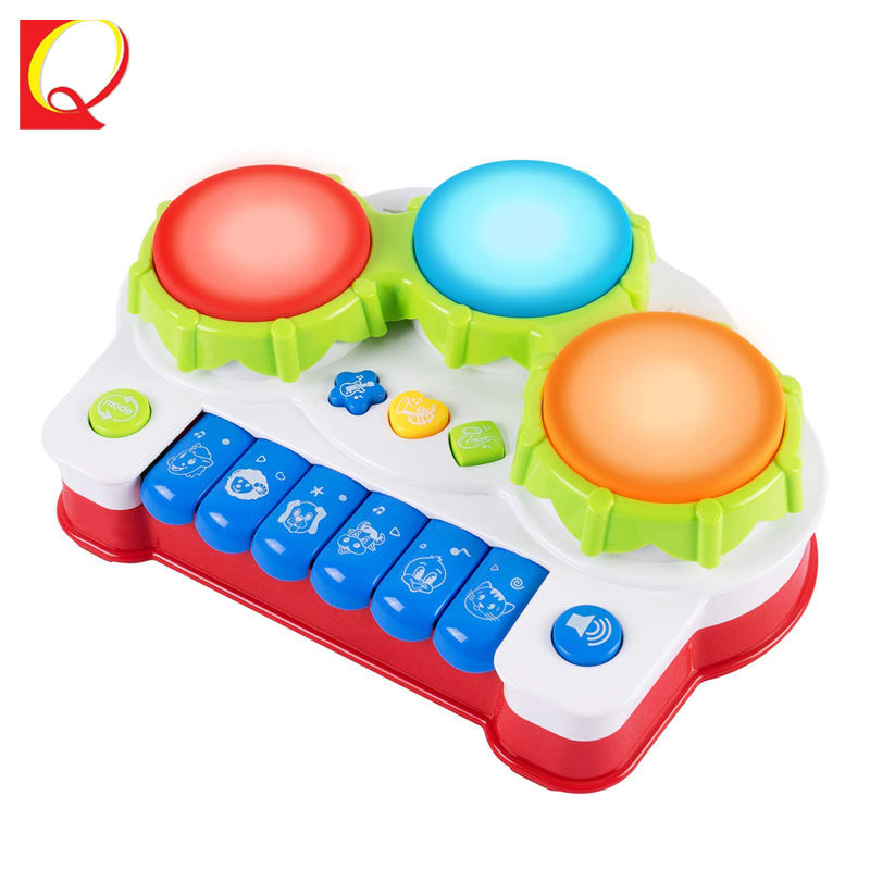 Educational Electric Drum Keyboard Piano Kid toy Musical Instrument