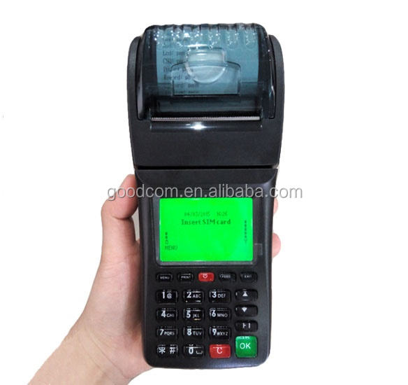 Handheld Airtime <span class=keywords><strong>Automaten</strong></span> GPRS SMS Drucker WCDMA Mobile POS-Terminal