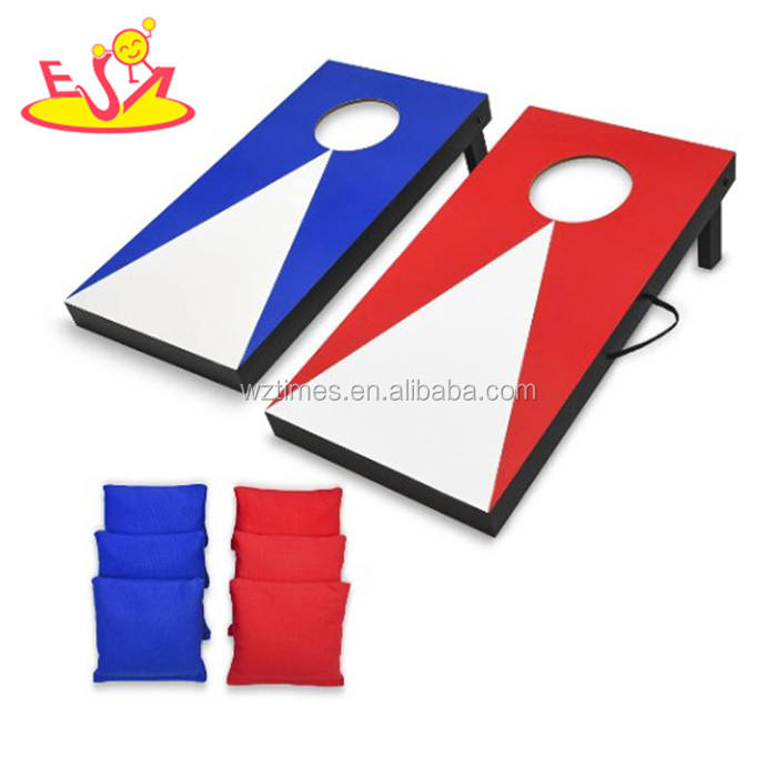 Wholesale sale high quality bean bag toss games wooden cornhole boards W01A205