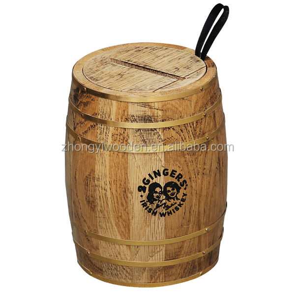 Lovely crafts custom large FSC high quality wooden wine barrel wholesale