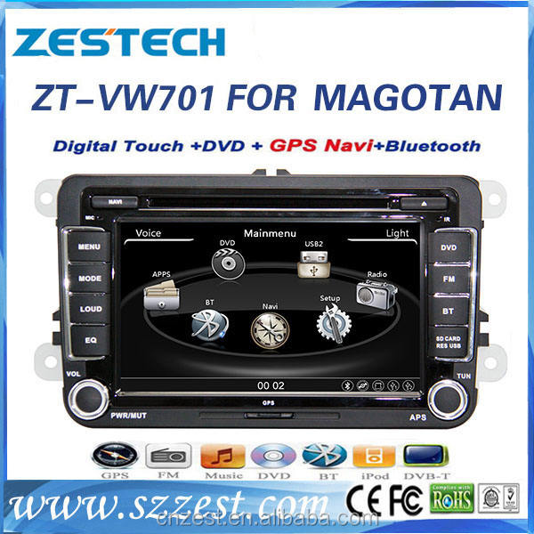 touch screen car radio gps for vw golf 6 tiguan with audio gps navigation BT TV multimedia