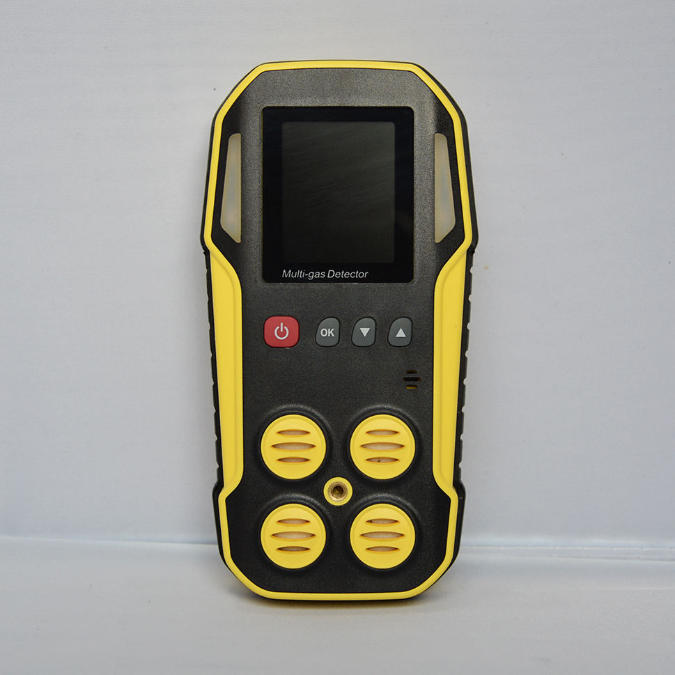 Gas Detection [ Co2 Tank ] H2S CO2 And Methane Gas Leakage Septic Tank Gas Detecting Alarm With Data Logging