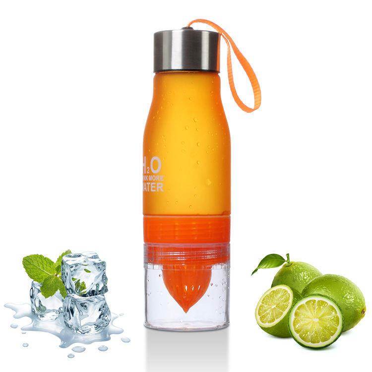 high quality custoem LOGO BPA FREE fruit fusion infuser water bottle