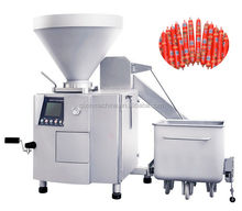 the new technology commercial electric vacuum pneumatic sasuage stuffer machine