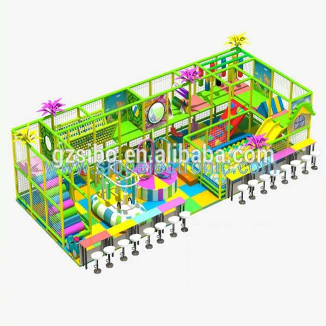 GM- 2016 playground indoor maze kids games
