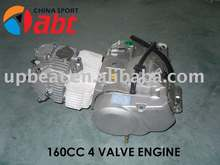 YX 160cc 4 valve oil cooled engine(pit bike use)