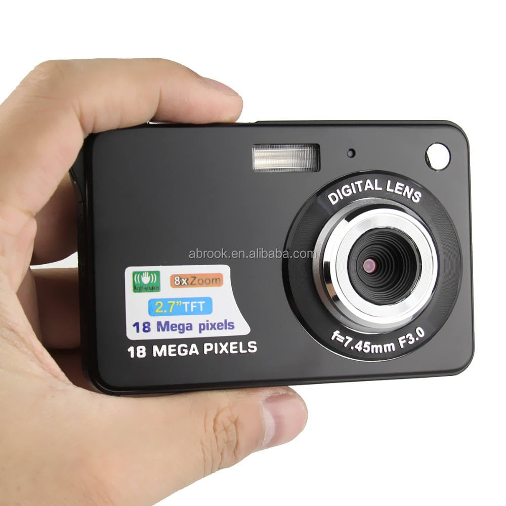 "18 Megapixel 2.7 ""TFT a buon mercato sensore cmos digital camera photo camera"